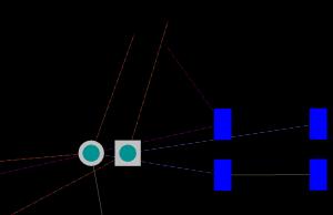 Bottom - single layer mode