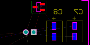 Color connections in Altium PCB